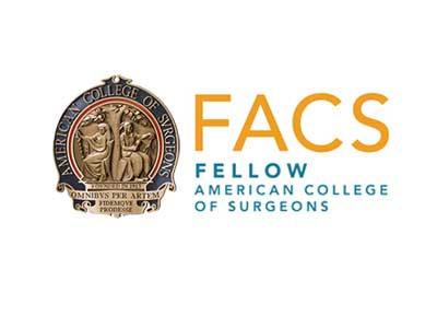 logo image facs fellow american college of surgeons