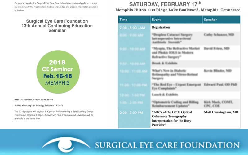 national and local eye care leaders