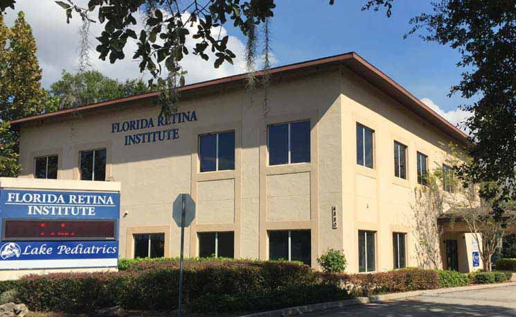image of florida retina institute in mount dora, florida