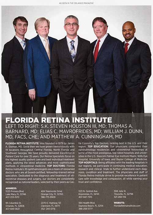 image of doctors in orlando magazine