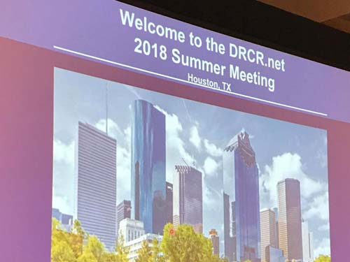 drcr summer meeting, houston, texas